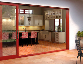 Patio doors and moving wall systems
